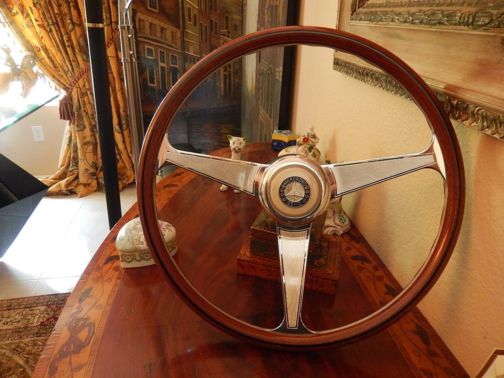 237 mercedes steering wheel for Mercedes benz wood steering wheel