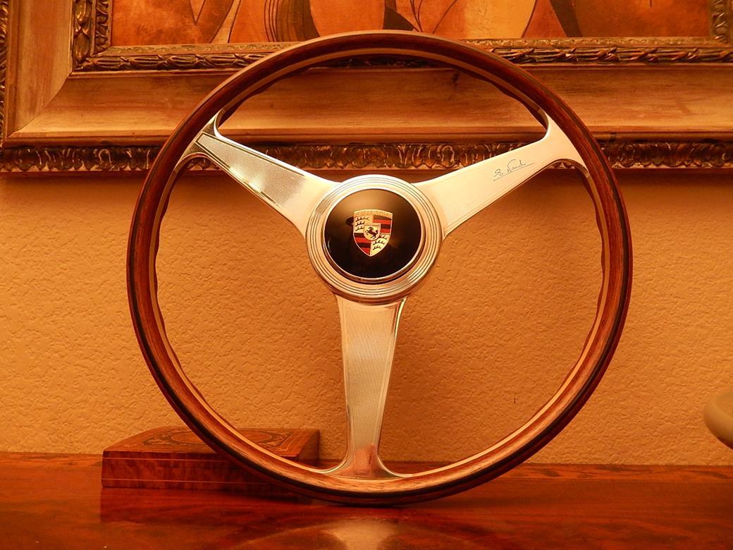 237 Porsche Steering Wheel Sold