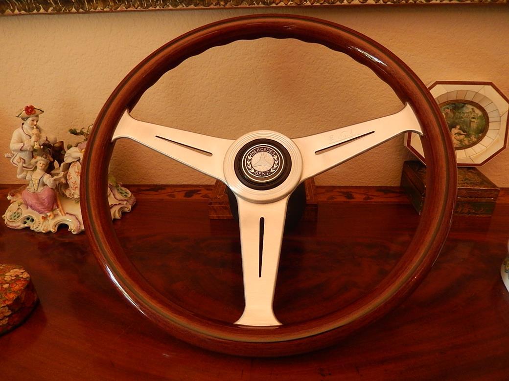 239 mercedes steering wheel for Mercedes benz wood steering wheel