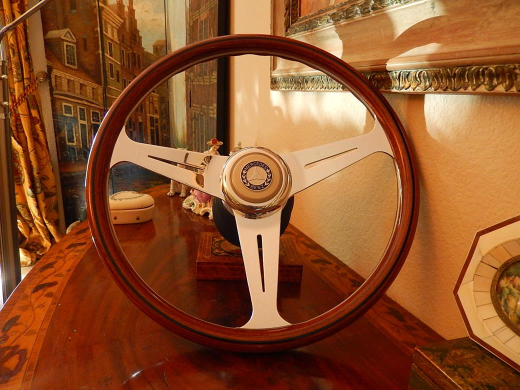 248 mercedes steering wheel for Mercedes benz wood steering wheel