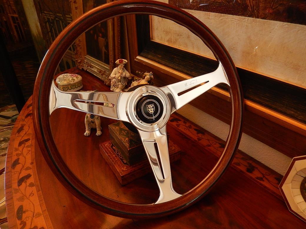 #53 Jaguar XJS 1990-1996 Steering Wheel