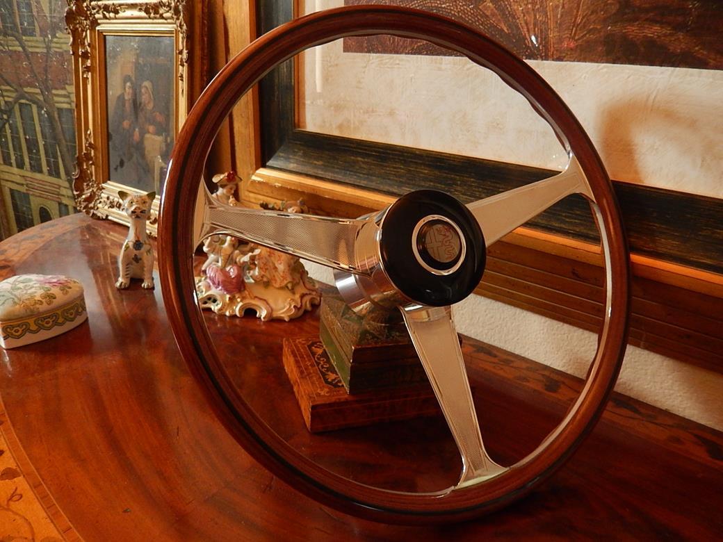 126 Alfa Romeo Steering Wheel Description Giulietta 101 750 Wood